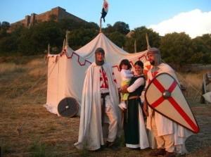 I partecipanti al palio