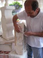 Arte di un maestro… oggetti e lampade in pietra leccese