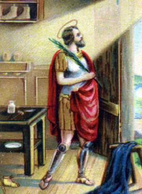 San Crispino protettore dei Calzolai
