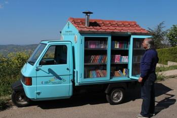 Bibliomotocarro di Ferrandina
