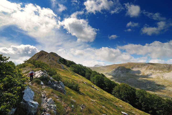 Trekking in Puglia sul Monte Cornacchia