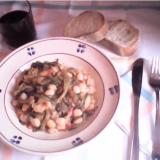 zuppa cicoria e fagioli