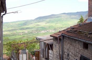 Panorama sulla valle di Vitalba