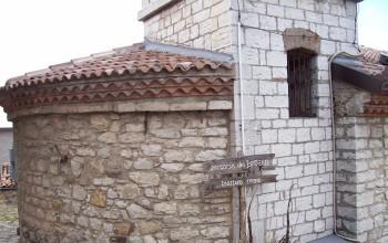 Retro della chiesa a Sant'Ilario