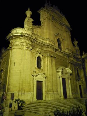 cattedrale di monopoli- facciata