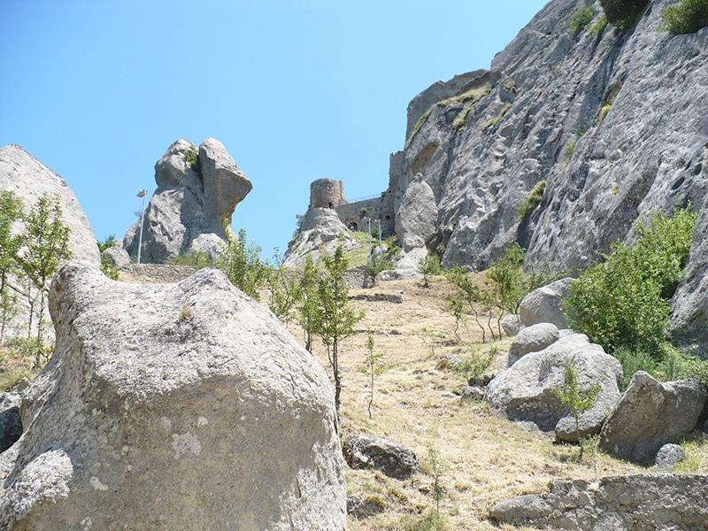 il Castelllo di Pietrapertosa in Basilicata