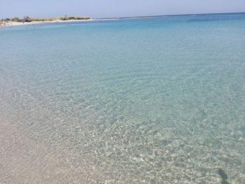 Spiaggia di Pantanagianni acqua cristallina