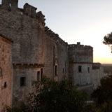 Castello di Frasso al tramonto