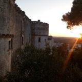 Castello di Carovigno al tramonto
