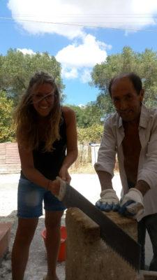 lavorazione della pietra leccese