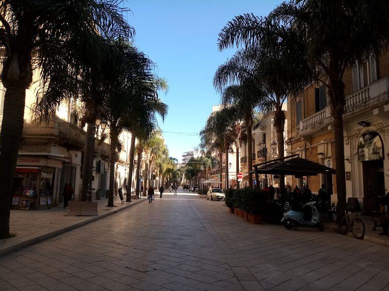 Corso principale di Brindisi