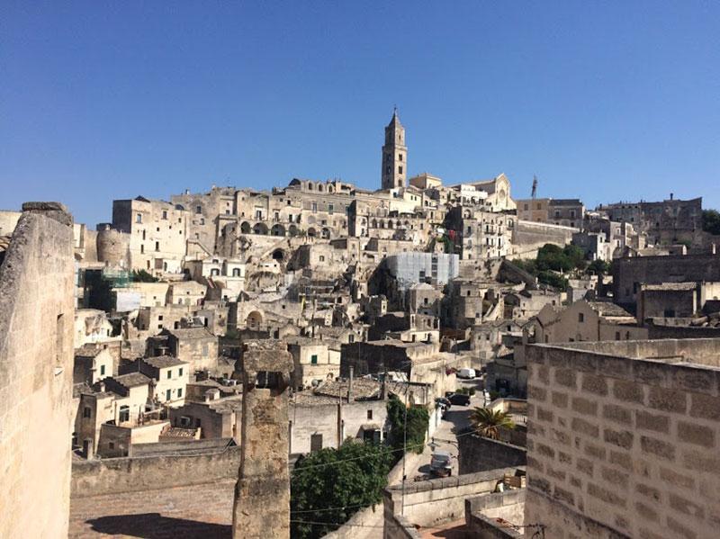 vista panoramica Sassi di Matera