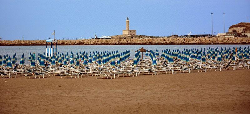 spiagge cani Vieste