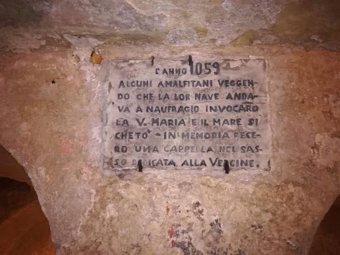 iscrizione cripta dedicata alla vergine Monopoli