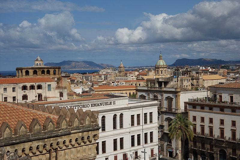 Panoramica di Palermo