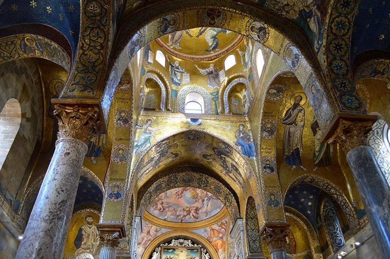 Chiesa bizantina della Martorana Palermo