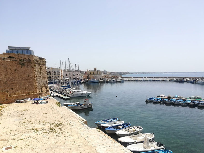 vista Gallipoli porto
