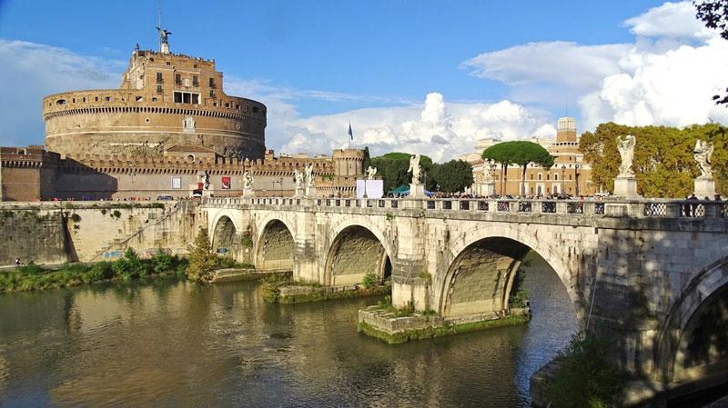 Tevere e Castel Sant'angelo